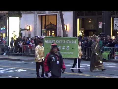 San Francisco Chinese New Year Parade 2019 Presidio Knolls School