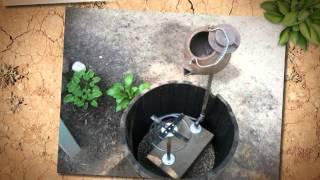 Как сделать фонтан для сада