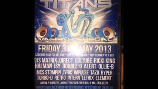 dj culture mc stompin b2b mc hype clash ov the titans 31st may 2013