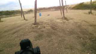 Repeat youtube video 3 gun stage with Google Glass