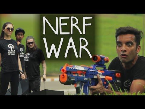 NERF WAR in Singapore!