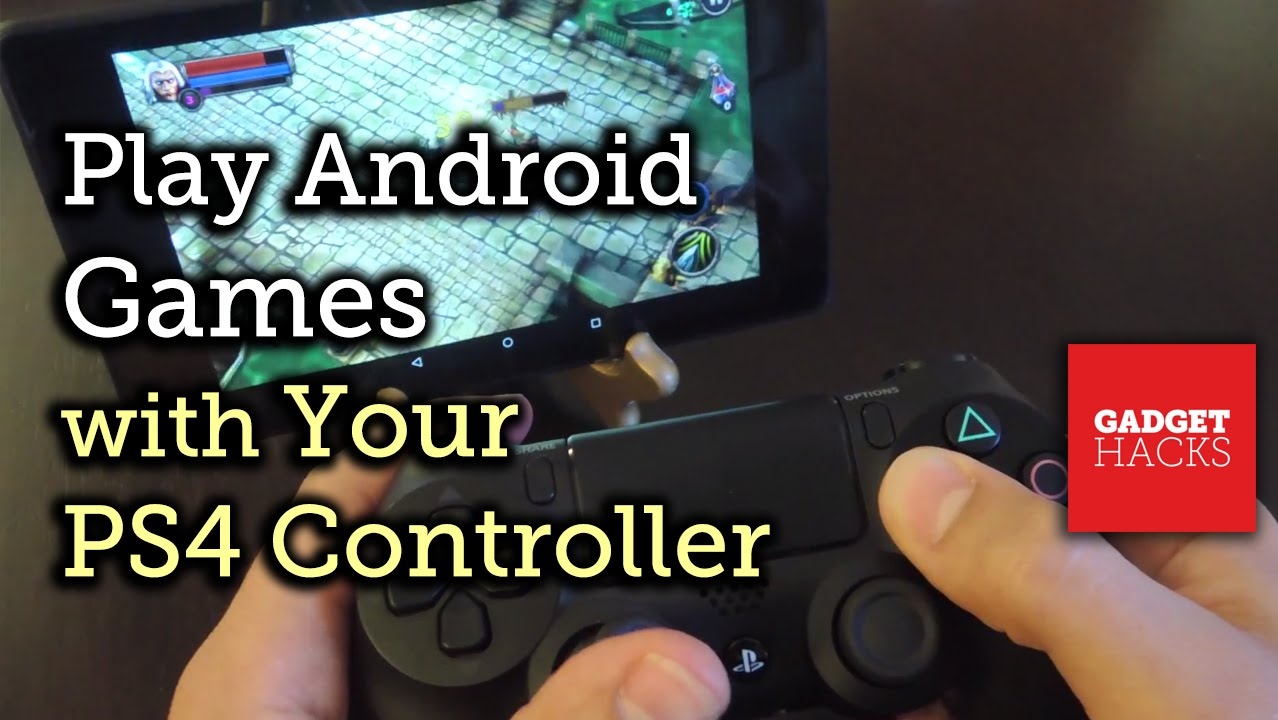 How to Connect Your PS4 Controller to Your Android Device