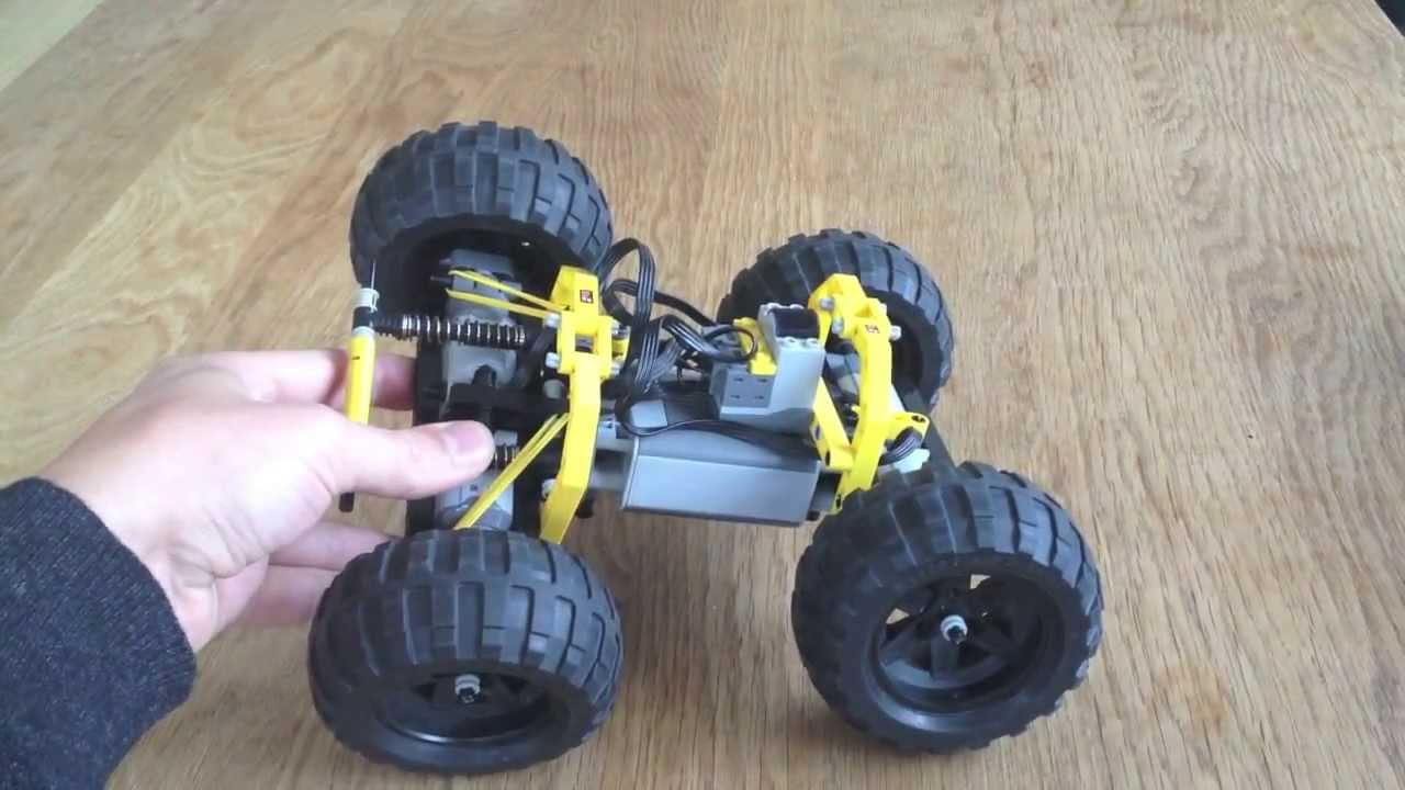 Race2 Super Fast Lego Rc Off Road Car Youtube