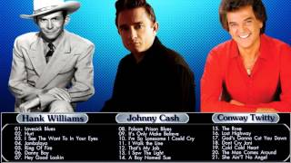 Hank Williams,Johnny Cash,Conway Twitty : Greatest Hits - Country Collection