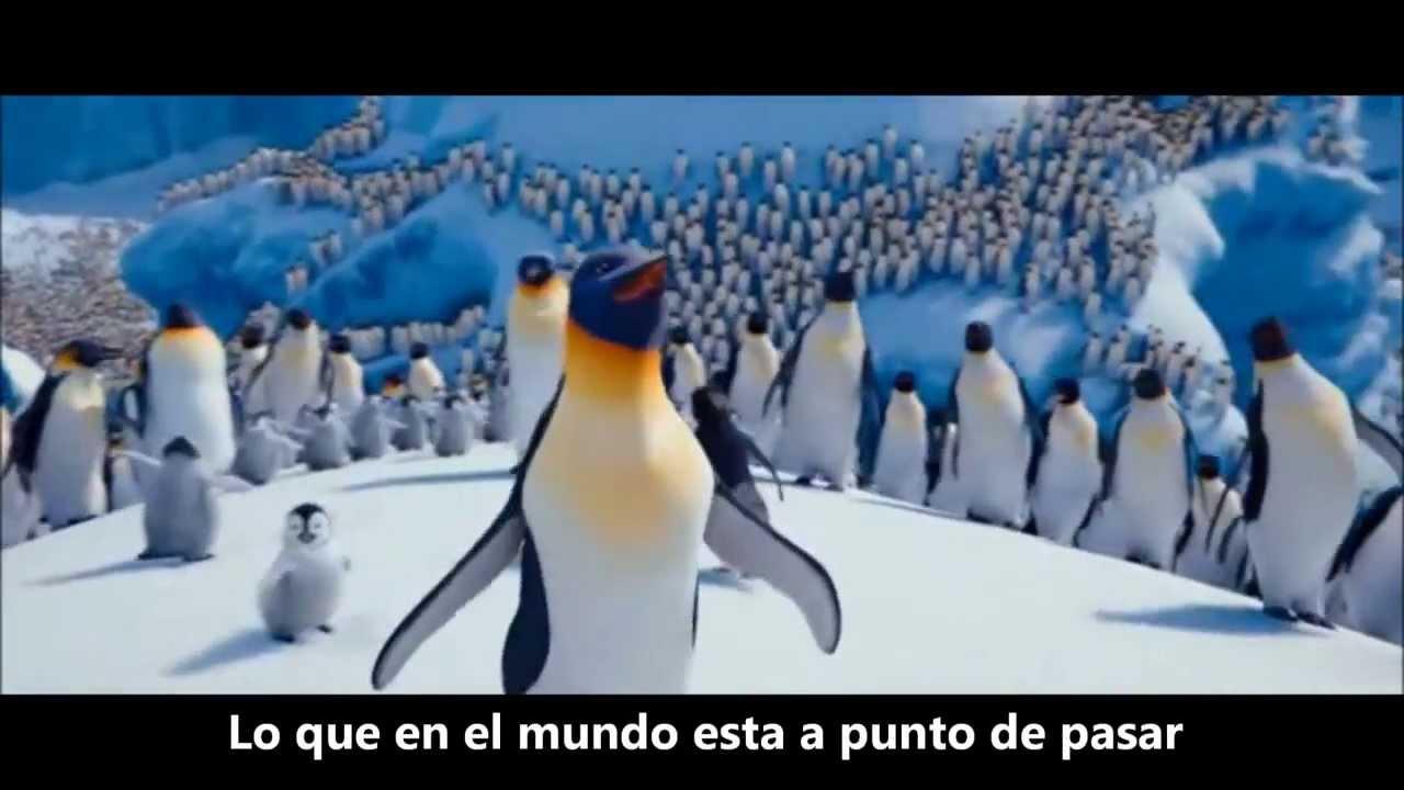 Happy Feet 2 La Cancion De Gloria Y Erik Sub Espanol Youtube