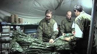 Kenttälääkinnän ketju - Sotilaslääketieteen keskus