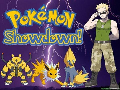 Pokémon Showdown # 26 - monotype Electric VS Electric