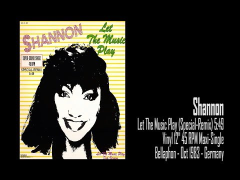 Shannon   Let The Music Play (Special Remix) (1983)