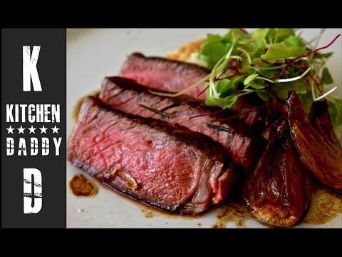 Rib Eye Steak, Jerusalem Artichoke Puree | Kitchen Daddy