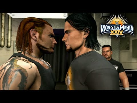 """WWE Smackdown vs Raw 2009 - Road To Wrestlemania Ep 1 - """"WHO WILL BE #1 CONTENDER?!"""""""