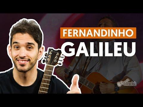 Galileu - Fernandinho (aula de violão simplificada)