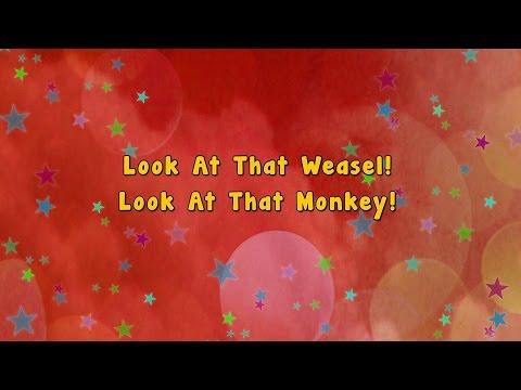 Pop Goes The Weasel | Karaoke Rhymes | Nursery Rhyme