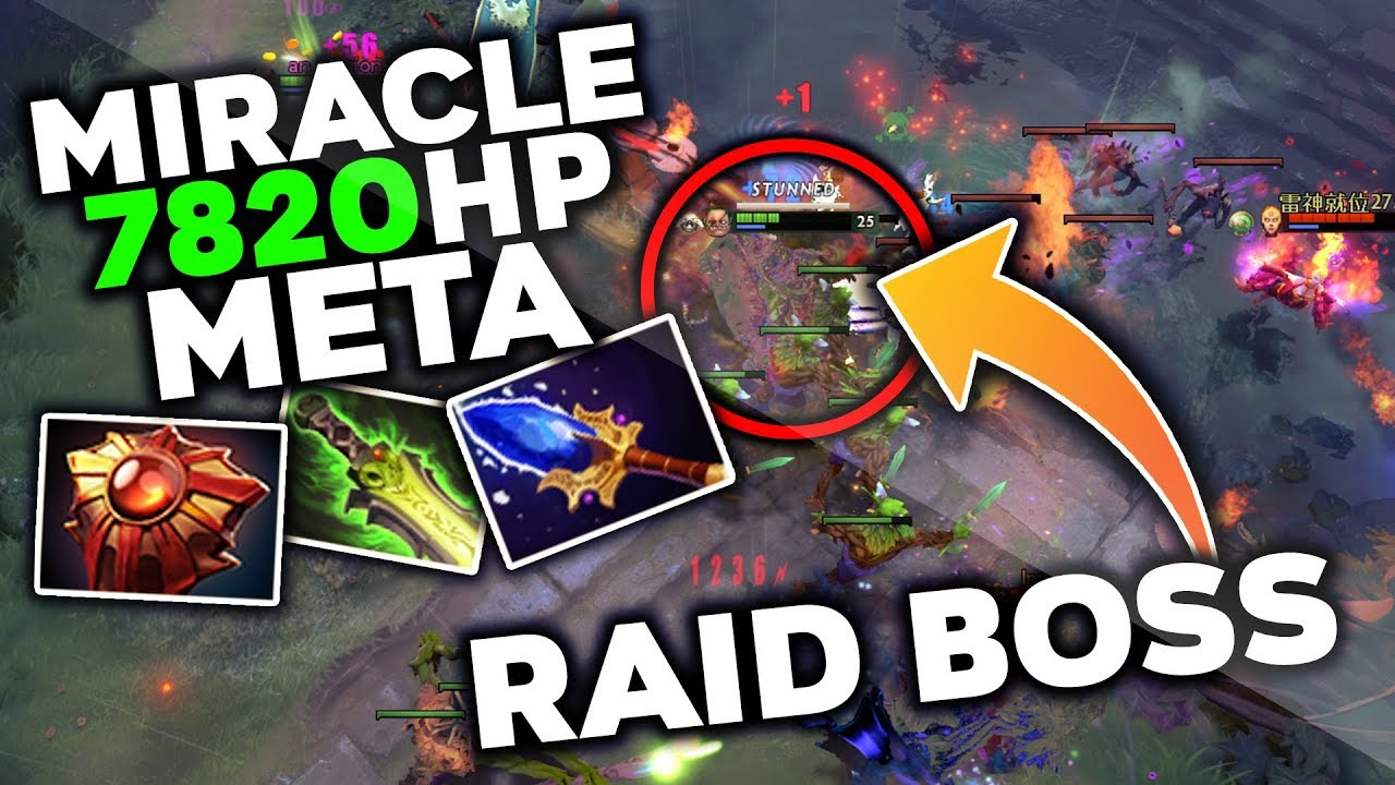 Miracle- Creating a NEW META With Pudge - Super Tanky Build Dota 2 thumbnail