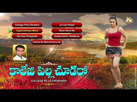 Folk Songs||Janapadalu||College Pilla Choodaro||Palle Padalu||Telugu Folk Songs||Jukebox||