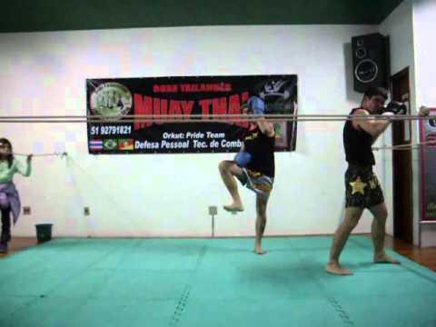 Muay Thai Pride Team Ritual Deivid Bittencourt e J...