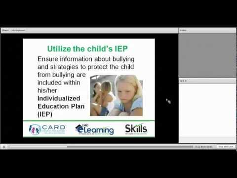 Children with Autism and Bullying