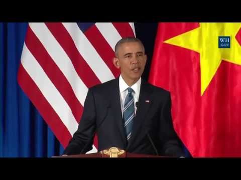 President Obama and President Quang of Vietnam Hold a Press Conference Low, 360p