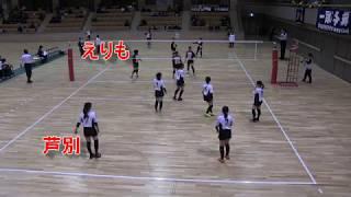 【春高バレー】 えりも X 芦別 第70回全日本高校バレー北海道大会 女子1回戦