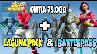 BELI LAGUNA PACK & BATTLEPASS SEASON 9 | Fortnite Mobile Indonesia