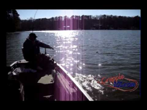 Crappie fishing charlie kent on pickwick lake youtube for Pickwick lake fishing report