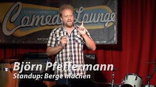 "Björn Pfeffermann: ""Berge machen"""