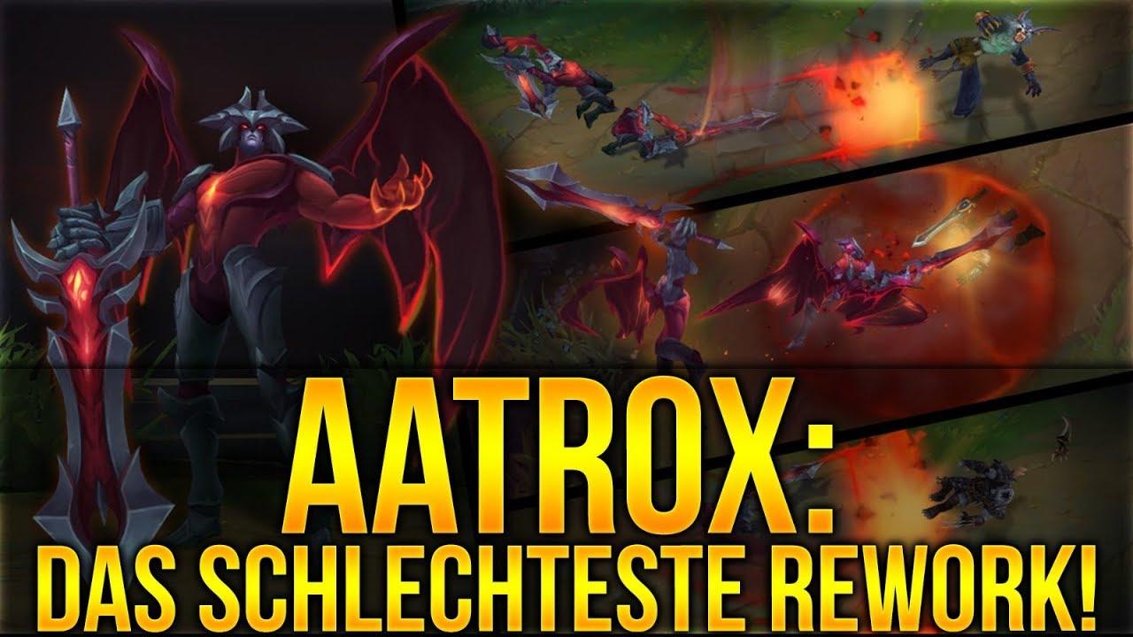 Warum Aatrox Das Schlechteste Rework Ist League Of Legends