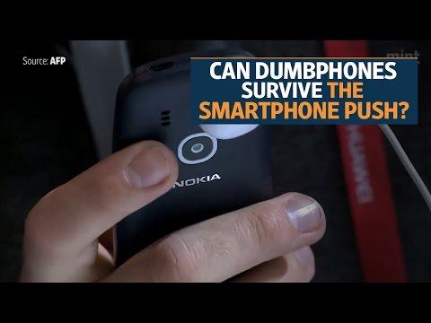 Can dumbphones survive the smartphone push?