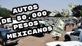 #tendencias  #autosusados #seminuevos 🚗🚗 que autos puedo comprar por $50,000 pesos mexicanos