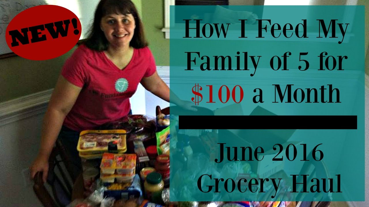 How I Feed My Family of 5 For Under $100 Every Month: Part 2