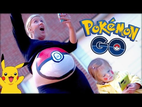 🔴 POKÉMON GO PREGNANT BELLY PAINTING! 🎨