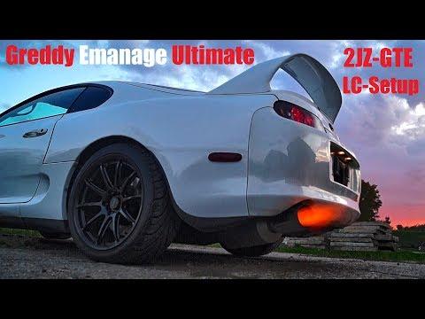 Toyota Supra Launch Control Greddy Emanage Settings