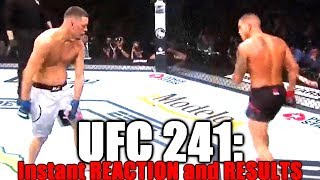 UFC 241 (Nate Diaz vs Anthony Pettis): Reaction and Results