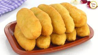 Fried Egg Bun / Russian Egg Piroshki Recipe by Tiffin Box | How to Make egg stuffed Bun