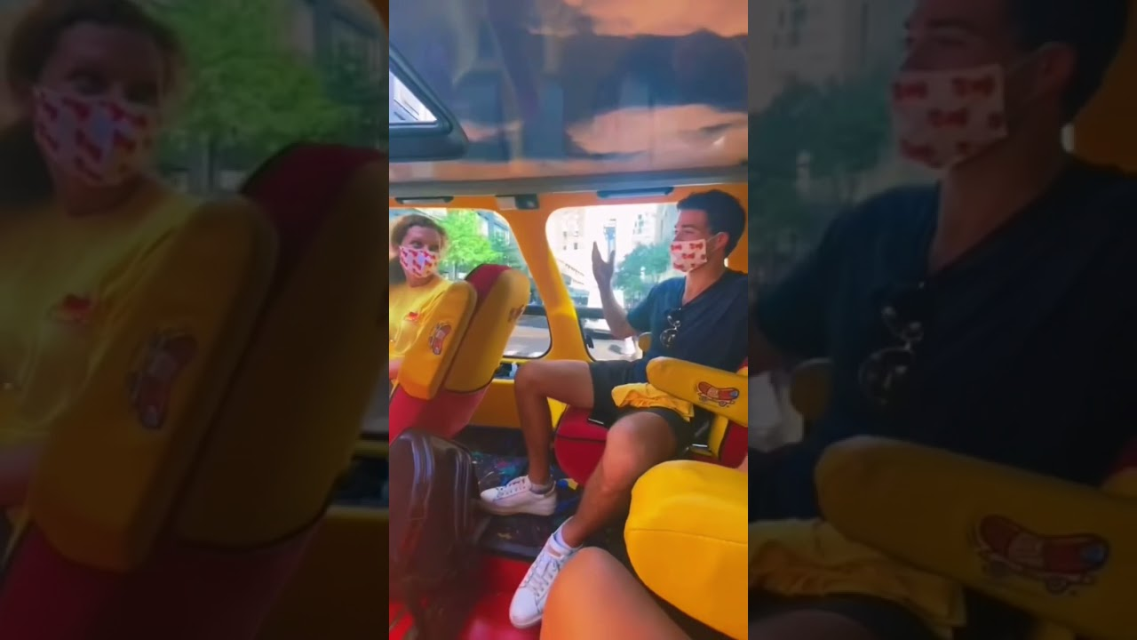 Its not every day you get to ride on the WienermobileLyft