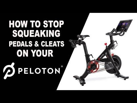 How To Get Rid Of Peloton Pedal Squeak!