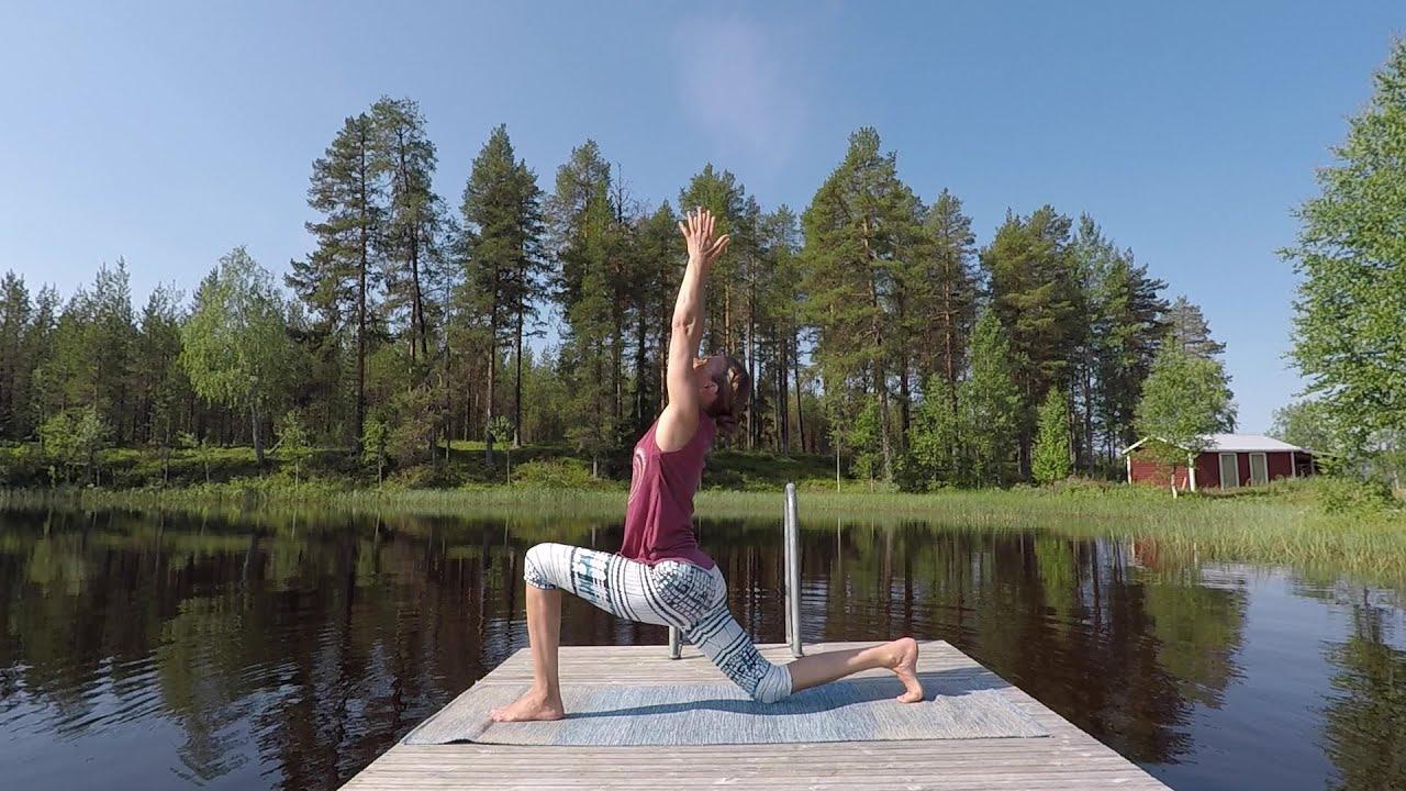 Solhälsning A, B och C - Träna yoga online hemma