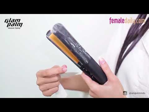 GLAMPALM VIBRATING IRON GP 225 AL - How to use Glampalm's Teton Film For Hair Care