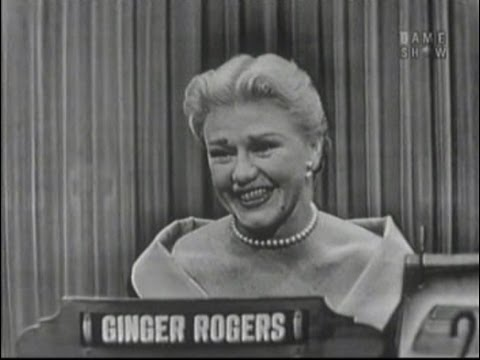 What's My Line? - Ginger Rogers (Nov 21, 1954)