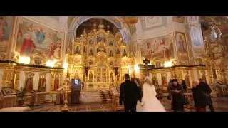 Венчание на свадьбе. Зима 2015г.