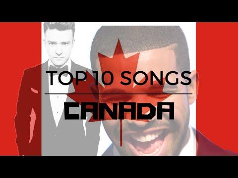 Top 10 Songs In Canada This Week - August 20, 2016 (billboard)