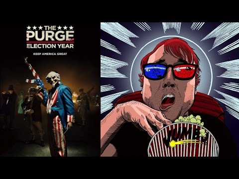 The Purge: Election Year Movie Review || Apolitical with B Movie Fun?