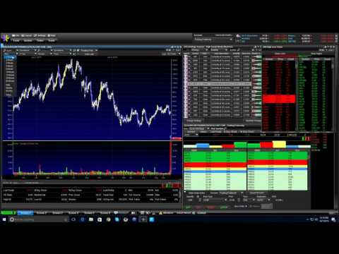 Options Trading & Day Trading LIVE tutorial - My latest live trading video - How to scan for stocks