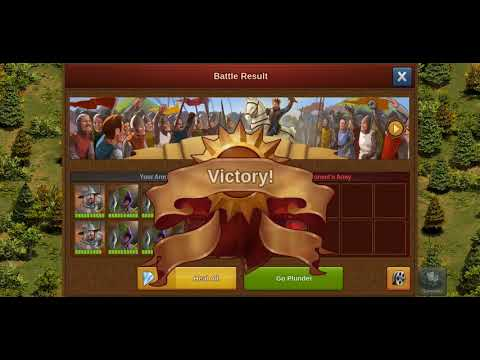 Attacking for goods and supplies Forge of Empires