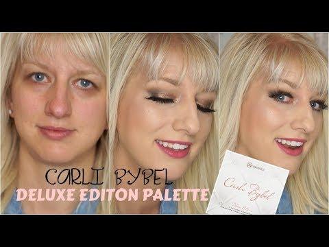 Smokey Eyes for Hooded Eyes | Carli Bybel Deluxe Palette thumbnail