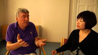 Childhood Trauma and Mental Health - Christine with Dr. Franz Ruppert in Oslo
