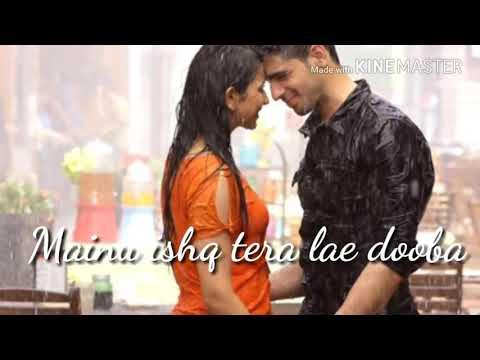 Mainu Ishq Tera Lai Dooba Full Song _ |Lyrics|