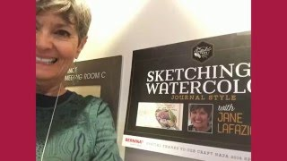 Craft Napa Sketching  Watercolor workshop