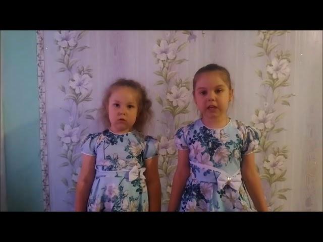 Изображение предпросмотра прочтения – «Андреевы Яна и Ульяна» читает произведение «Кот поёт, глаза прищуря…» А.А.Фета