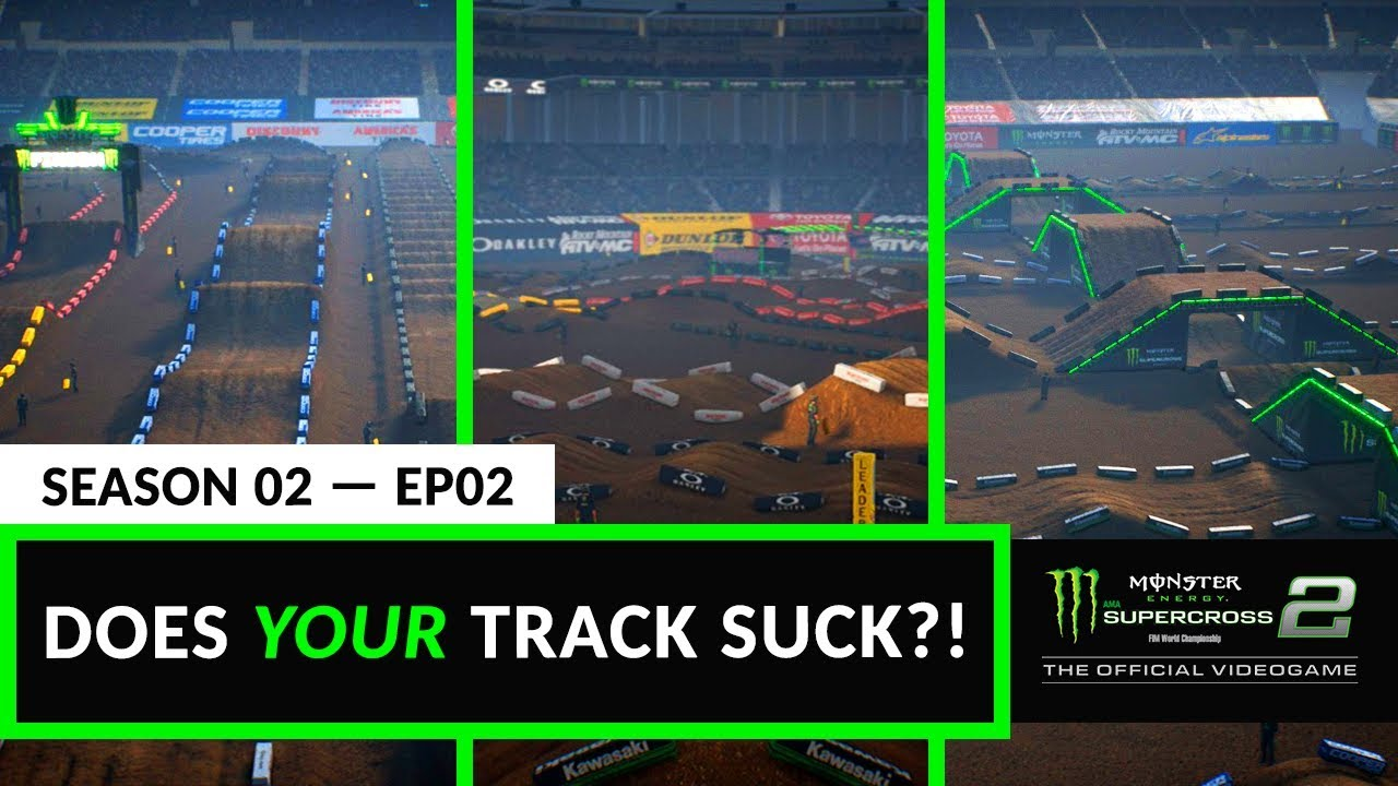 Does Your Track Suck? - Supercross The Game 2 - Episode 2