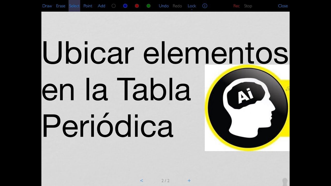Como ubicar un elemento en la tabla peridica youtube urtaz Image collections